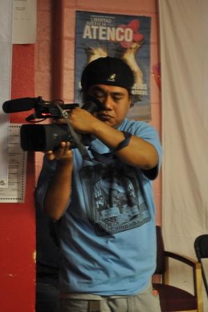 MJB Member Filming the Encuentro