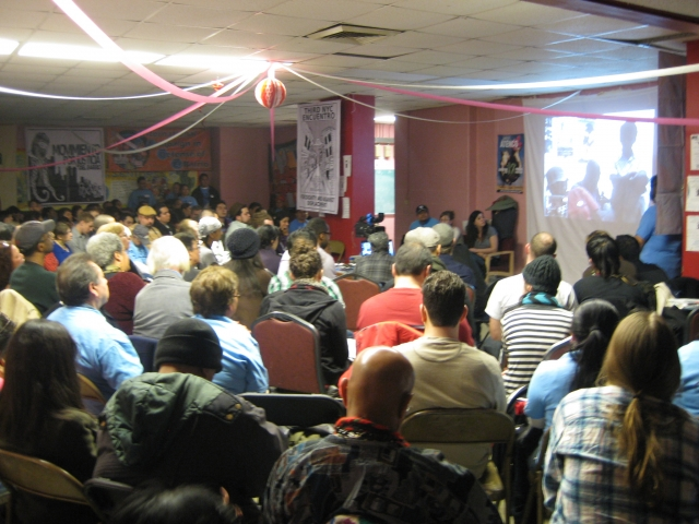 Attendees Watching Abahlali Video Call